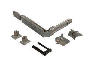 Угловые переключатели фурнитуры к алюминиевым конструкциям