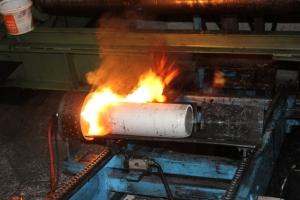 Процесс экструзии алюминиевого профиля