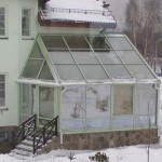 Утепление зимнего сада