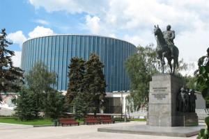 Остекление профилем Nordic Aluminium музея Бородинская панорама