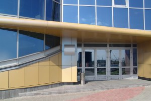 Оконно-дверное остекление профилем Алютех ALT W 62
