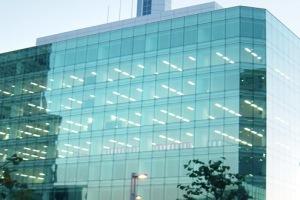 Структурное остекление офиса