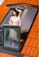 Fakro: мансардное окно-балкон