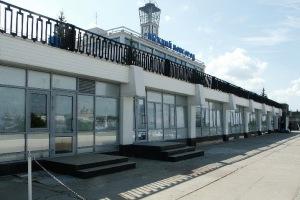 Остекление речного вокзала в Нижнем Новгороде профилем Алюмакс