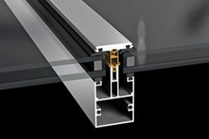 Профиль Sapa Roof Glazing 5050 для остекления крыш