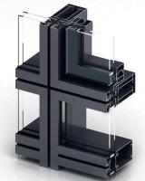 Элементный фасад, алюминиевый профиль