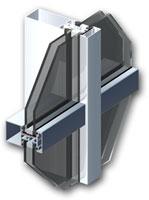 Профиль  MB-SR-50 фасадной системы