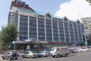 Остекление профилем Татпроф гостиницы в г. Липецк