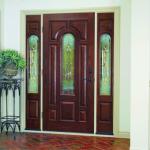 Стеклянные вставки в дверях