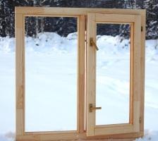 Недорогие деревянные стеклопакеты