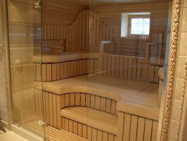 Стекло для дверей в баню или сауну