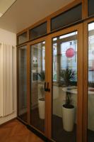 Раздвижные двери из стекла не всегда можно установить на балконе