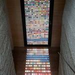 Двери с витражными стеклами