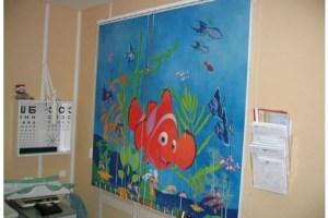 Фотожалюзи с рисунком на аквариумную тему