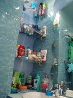 Стеклянные полки имитация подводной средыподводное царство в ванной