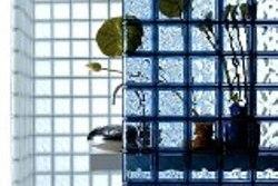 Стеклоблоки - отличный материал для зимнего сада