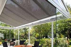 Использование электрохромного смарт-стекла для остекления крыши зимнего сада