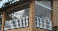 Дизайн балкона с панорамным остеклением