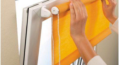 Как выбрать рулонные шторы на пластиковые окна
