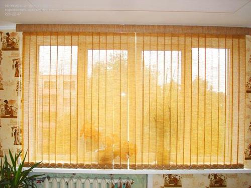 Жалюзи на балконные окна