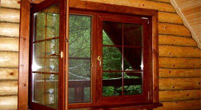 Окна из дерева со стеклопакетом