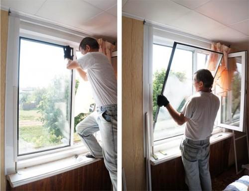 Снять штапик с пластикового окна