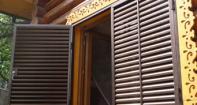 Металлические ставни жалюзи на окна