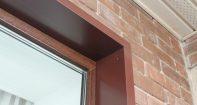 Откосы на окна наружные металлические