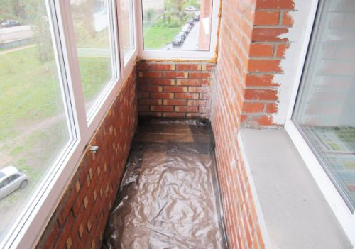 Пошаговый ремонт балкона своими руками