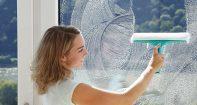 Как почистить окна пластиковые