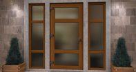 Входная дверь, стеклопакет