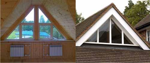 Как сделать окно в крыше дома