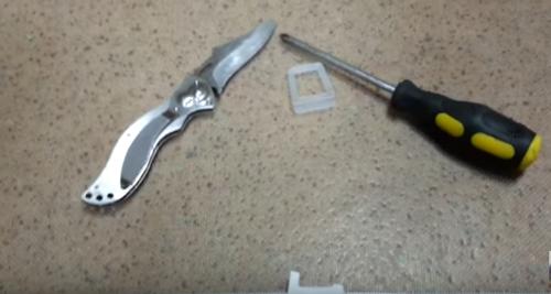 Замена ручек на москитной сетке
