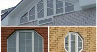 Пластиковые окна нестандартных размеров
