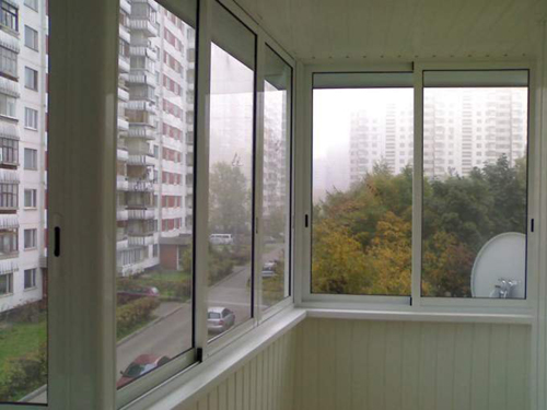 Виды остекления балкона