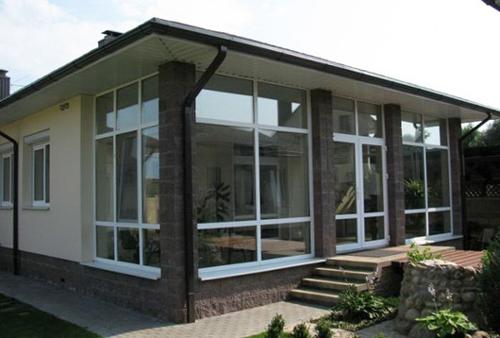 Окна ПВХ для террасы