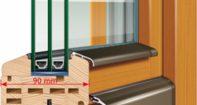 Замена стеклопакета в деревянных окнах