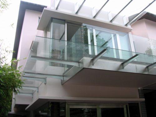 ПВХ-окна с одним стеклом