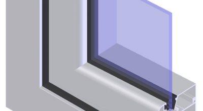 Окна ПВХ с одним стеклом