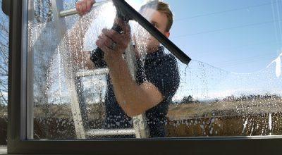 Как очистить стекло от цементного раствора купить формы для производства из бетона