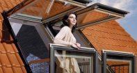 Мансардное окно балкона Велюкс