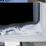 Промерзает окно из ПВХ