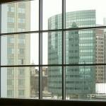 ПВХ-окно с типовым фальшпереплетом