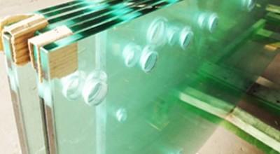 Калёное стекло на складе