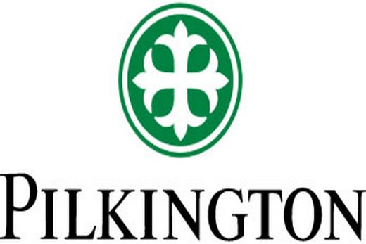 Логотип фирмы Pilkington