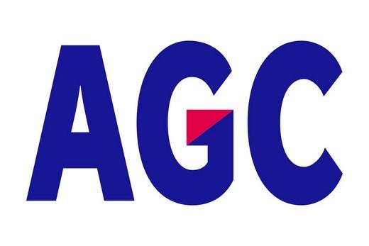 Логотип фирмы AGC Asahi Glass
